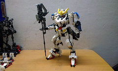 LEGO Gundam Barbatos ASW-G-08 1/60 (demon14082001) Tags: lego gundam barbatos frame iron blooded orphans asw 08th tekkadan technic bionicle hero factory brick robot mecha toy figure đồ chơi