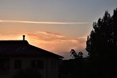 I wonder about sunsets (I) (Milan Korenev) Tags: sunset dusk landscape rural countryside sky clouds cloudscape red orange blue twilight evening