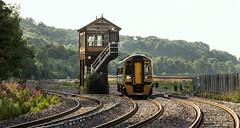 Mostyn No.1 Signalbox (Kingmoor Klickr) Tags: mostyn no1 signalbox 158836 mostyndocks arrivatrainswales 1h93 signal box