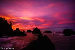 Secret Beach sunrise (Tri Minh) Tags: secretbeach oregon sunrise