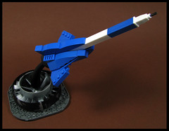 Sword of Writeousness (Karf Oohlu) Tags: lego moc pen legopen desktoptoy starfighter microscale microspacetopia scifi