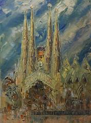 Sagrada Familia, Barcelona. (Arturo Espinosa) Tags: sagradafamilia arty barcelona gaudí