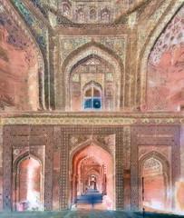 India - Uttar Pradesh - Fathepur Sikri - Jama Masjid - 62bb (asienman) Tags: india uttarpradesh fathepursikri jamamasjid asienmanphotography asienmanphotoart