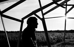 Geometry of the man and sun (VelannaRay) Tags: bw blackandwhite black film filmphoto geometry light lines people outdoor mood portrait monochrome shine sunshine sun summer summertime sunny space concept man magic пленка портрет природа атмосфера чб чернобелое вечер свет солнце странствие настроение люди лето волшебство линии силуэт монохром тайболафестиваль