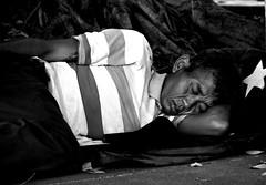 bangkok (wojofoto) Tags: blackandwhite bangkok thailand zwartwit monochrome straatfoto streetphoto streetlife sleeping slapen sleep people street wojofoto wolfgangjosten man mensen