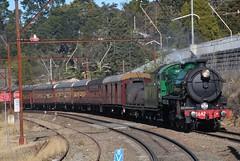 3642 at Wentworth Falls. (Matt (thebigman)) Tags: nsw rtm heritage 36class 42class steam