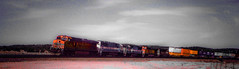 West Pica, Arizona (In my Youth) Tags: bnsf beauty pica arizona atsf eastbound route66 yampai sky weather
