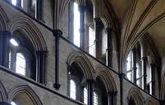 Salisbury Cathedral, clerestory
