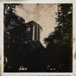 balconies in the sky