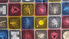 C-0262 Game of Thrones House Sigils (MyLittlePoppySeed) Tags: fabric tissu coton cotton mylittlepoppyseed gameofthrones sigils tiles patchwork red blue yellow fantasy movie series medieval fantastic film bleu rouge jaune mediéval tuiles fantastique c0262