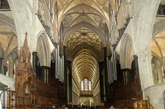 Salisbury Cathedral Interior