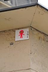 Mr Djoul (emilyD98) Tags: street art insolite rue mur wall urban exploration paris mosaic installation mosaique mr djoul alien city ville