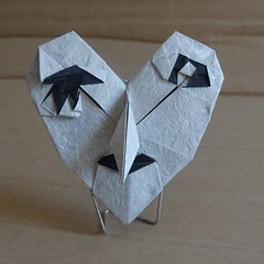 Witch mask by Hideo Komatsu [Hideo Komatsu challenge 09/50] (Orizuka) Tags: origami hideokomatsu hkchallenge witch mask