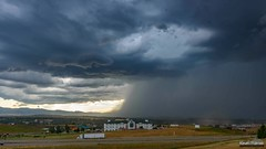 Sheridan Storm Time Lapse (kevin-palmer) Tags: storm stormy thunderstorm weather sky clouds july summer sheridan wyoming reststop microburst rain wind windy severe i90 interstate timelapse video tamron2470mmf28 nikond750