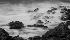 Friars Point (Welsh Photographer) Tags: friars point barry island wales welsh uk seascape sea ocean pentax k3ii da longexposure sunset mono monochrome blackandwhite explored explore