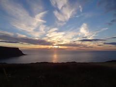 Sunset 2 (Saf37y) Tags: sunset seashore sea coast clouds costal sky scotland mhorhead seaside aberdeenshire gardenstown gamriebay gamrie