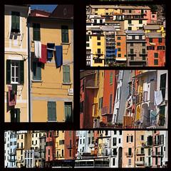 Liguria colorata (Roybatty63) Tags: nikon d80 facciata facciate finestre finestra window portovenere borghi paese square quadrato liguria case colori