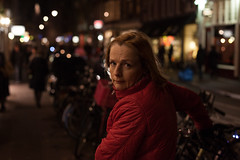 _MG_9423 (csapolajos1984) Tags: streetphotograph amsterdam holland woman bicycle nightlife