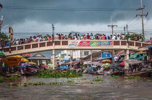 marché flottant amphawa - thailande 36