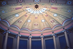 Lake Erie College ~ Helen Rockwell Morley Memorial Music Building ~ Lake County ~ Ohio (Onasill ~ Bill Badzo ~~~~ OFF) Tags: lakeerie college lakecounty school helen rockwell exterior interior morley memorial music building oh ohio history greek architecture style musicians supreme court session students library elevators lecture hall skinner organ onasill nrhp register historic steinway piano concert ceilingmural