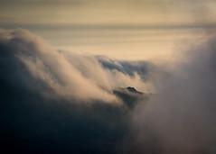 Cloud Bank (Tim Allott) Tags: northwales sky abstract dawnlight cloudbank mist hillcloud mountain glyderau snowdonia april 2017