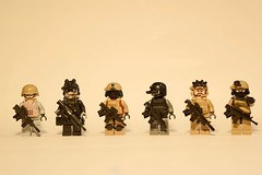 Which Operator Would You Choose? (comment below) (jonahfox1) Tags: lego brickarms operator gun military minifigure army toy modcom custom special forces seals