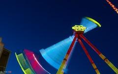 speedLights (ant 52) Tags: nikon d5100 light night wien prater longtime long color colour