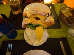 P7151058 (tatsuya.fukata) Tags: thailand samutprakan cabanagarden restaurant italian food shrimp srimpcocktail