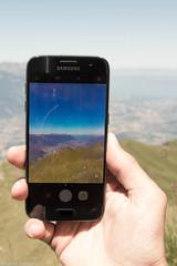 By smartphone ? (multimaniack) Tags: smartphone chablais morcles cabane tourche desaturation montagne