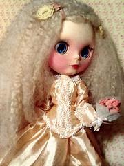 Blythe-a-Day July#15 Painting/Art: Ava as Young Miss Havisham