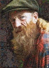 Che Mosaico (by zurera) Tags: digital hd art collage retratos portraid zurera people fotomontaje image autoretratos mosaic