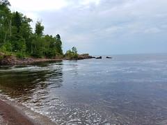 Superior Beach (Knaupter) Tags: minnesota mn northshore shore beach river lake superior lutsen silverbay