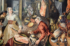 The Four Elements: Fire By Joachim Beuckelaer (meg21210) Tags: 1569 fourelements holyfamily mannerist background distance painting london nationalgallery museum fire fourelementsfire art joachimbeuckelaer