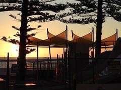 Setting sun (Lesley A Butler) Tags: sa glenelg autumn australia adelaide