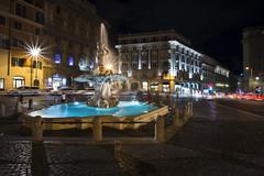 fontana del tritone (sga77) Tags: roma italy piazza barberini fontana del tritone gianlorenzo bernini fountain