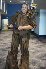 D23-V 0269 (Photography by J Krolak) Tags: cosplay costume masquerade d23 disney mousquerade d23expo groot guardiansofthegalaxy winner marvel anaheim california usa d232017disneyfanexpo