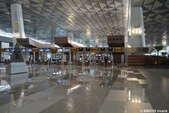 CGK - Terminal 3 Check-in (rivarix) Tags: cgk soekarnohattainternationalairport jakartaindonesia airline airways airport airportterminal terminal3 airportbuilding
