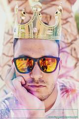 . (Paco Jareño Zafra) Tags: game thrones corona rey rei king summer verano retrato portrait funny sunglasses gafas de sol aburrimiento paco jareño zafra pacosrulz canon 6d