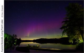 Aurora Borealis, Long Point Lake