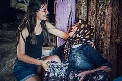 Admiration (Melissa Maples) Tags: keçiborlu turkey türkiye asia 土耳其 nikon d3300 ニコン 尼康 nikkor afs 18200mm f3556g 18200mmf3556g vr iskotur roadtrip excursion summer lavender turk woman elderly necibe smile
