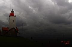 Lighthouse in Urk (Dorota.S - !) Tags: flevoland urk lighthouse netherlands dorotas