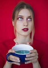 IMG_0111 (@k.jumank) Tags: red cross portrait photoshoot tallinn estonia eyes mug tea