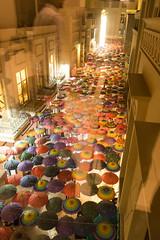 Umbrellas inside Dubai Mall (tesKing (Italy)) Tags: abudhabi dubai dubaimall emiratiarabi uae emiratiarabiuniti ae