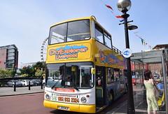 City Explorer Liverpool (Maghull Coaches) LJ03 MJX (paulburr73) Tags: liverpool lj03mjx alexander alx400 daf sb250lf sightseeing opentop arriva london arrivalondonnorth maghullcoaches dla355 cityexplorer mersey rivermersey merseyside albertdock july 2017 summer dualdoor tour
