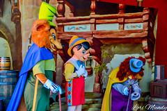 Pinocchio, Gideon, and Foulfellow (disneylori) Tags: foulfellow gideon pinocchio disneycharacters meetandgreetcharacters characters storybookcircus magickingdom waltdisneyworld disneyworld wdw disney photopassday
