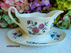 Wedgwood Gravy Sauce Boat ~ Williamsburg Potpourri (Donna's Collectables) Tags: wedgwood gravy sauce boat ~ williamsburg potpourri