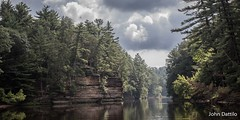 Wisconsin Dells (flintframer) Tags: dells wisconsin clouds rain canon 7d markii ef1635mm nature wildlife wow dattilo rock formations