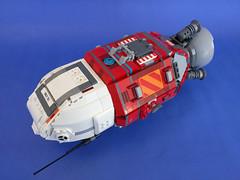 HRC Atun - Maguro class asteroid prospector (breadman017) Tags: lego space spaceship spacecraft scifi theexpanse