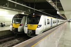 700006 700017 St. Pancras 24/7/2017 (Martin Coles) Tags: 700006 700017 class700 desirocity thameslink stpancras london train trains rail railways railway