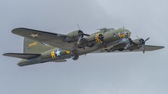 Flying Fortress (Martyn William's Aircraft) Tags: riat 2017 raffairford gloucestershire england b17 flyingfortress